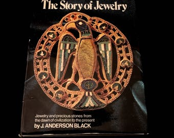 Vintage Reference Jewelry - The Story of Jewelry - Historical Guide - Coffee Table Book