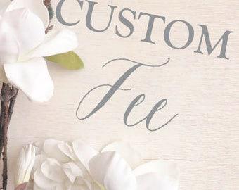 PRINTED Wedding Invitations - Custom - Style INV64