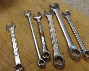Small Wrenches for small projects Lot of 6