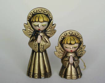 vintage angel christmas ornaments parma by AAI made in japan