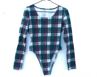 Plaid Leotard