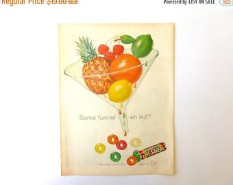 SALE - Mid Century Colorful Life Savers Candy Advertising Page