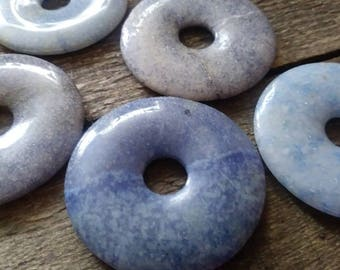 Dumortierite Donut 40mm