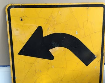 Large Vintage Arrow Sign