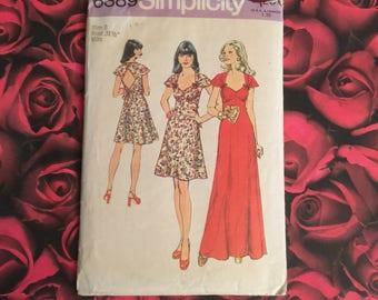 70's Vintage Simplicity Paytern #6389 Size 8