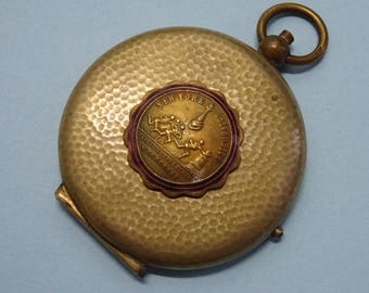 antique POUDRE - MIRROR locket // university new york