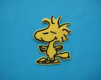 Cute~ Iron-on Embroidered Patch Woodstock 2.9 inch