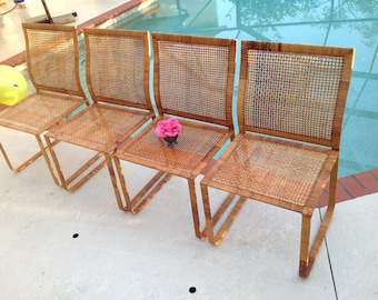 Elegant Woven Rattan Chairs Harvey Probber Style Rattan Chairs Set Of Mid  Century Modern Chairs With Retro Rattan Chairs