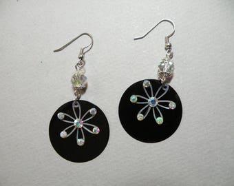Crystal Sequin Earrings