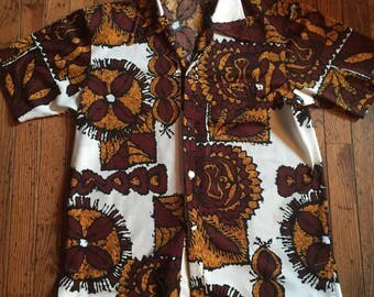Vintage Men's Liberty House Hawaiian Shirt Hawaii Size Medium