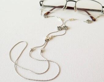 Eyeglasses Holder, Sunglasses Chain, Reading Glasses Holder,Eyeglasses Lanyard,Eyewear, Gift For Mother, Gift For Grandmother, Holidays Gift