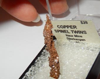 Copper Spinel Twins