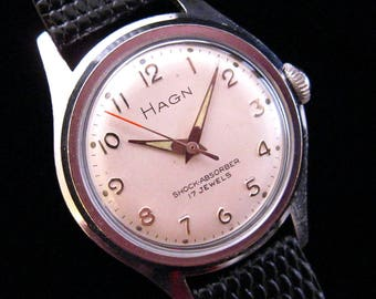 Hagn - 17 Jewel Watch - Smooth & Simple
