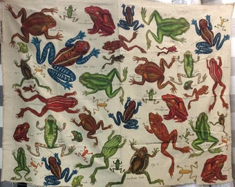"LAST PIECE 40 inches  ""Monkey"" by Design Legacy print fabric"