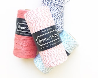 Coral Bakers Twine (240 yards) 1 Spool