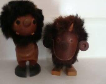 Wood Trolls from Denmark