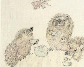 Afternoon tea & a fairycake