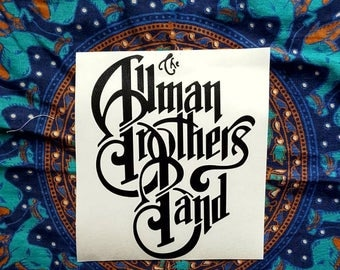 The Allman Brothers Band Vinyl Graphic Sticker Decal Jam Band Stickers