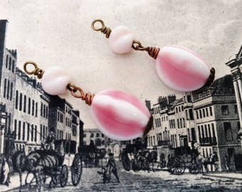 Vintage Pink Bead Baubles