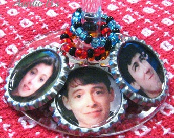 Ferris and Friends - Drink Charms Set of 6