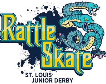 Custom Roller Derby Name Graphic