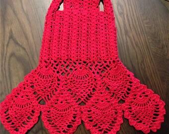 Ravishing Red Dog Dress