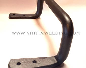 Hand Forged Iron Historic Style Towel Holder by VinTin