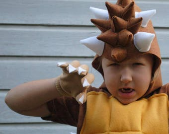 Custom Designed Ankylosaurus Dinosaur Costume - Order early for Halloween 2017