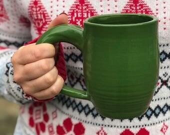 Bright Green coffee mug