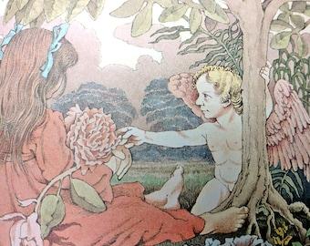 First Edition Dear Mili Wilhelm Grimm Ralph Manheim Maurice Sendak Michael di Capua Books No Dustcover Frameable Illustrations