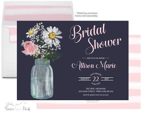 Rustic Bridal Shower Invites Wedding Shower Invitation Country