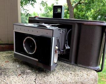 Vintage Polaroid Model J66 Land Camera with Case