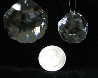 Swarovski Clear Crystal Shell Pendant