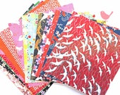 Scrap Pack - Japanese rice and origami paper ephemera, paper scraps