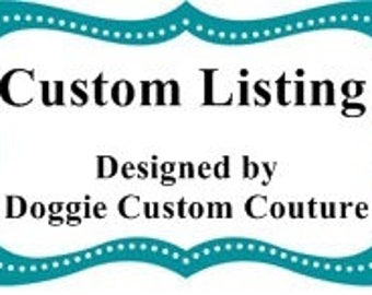 Custom Listing for Debbie & Abbie 4 Dog Collars w Fabric Flowers Set SIZE extra small Adjustable Dogs Collars D Ring Accessory