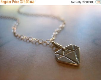 SALE Tiny Treasure Sterling Silver Necklace