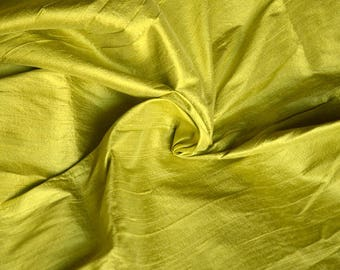 Silk Dupioni in Pale Apple green - D 316 A