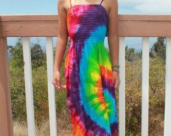 Tie Dye Girls Dress Size 8