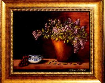 Lilacs And Porcelain