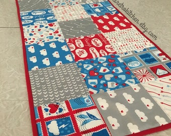Air Mail Valentines Day Table Runner