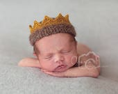 IN STOCK Where The Wild Things Are Crown Photo Prop Unisex boys Crown Newborn Crown - Photography prop