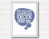 Motivational Quote Print,...