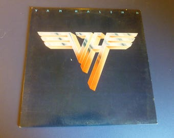 Van Halen II Vinyl Record LP HS 3312 Warner Bros. Records 1979