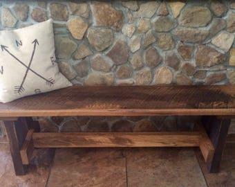 Custom Rustic Benches