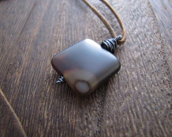 Mens Necklace, Mans Necklace, Onyx Necklace, Onyx Stone, Onyx Gemstone, Stone Necklace, Gemstone Necklace, Crystal Necklace