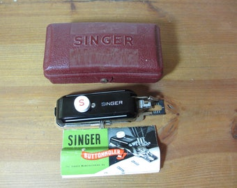 Singer Buttonholer 160743 for Singer 301 Sewing Machine, Accessories, Sewing Notions, Vintage Sewing Machine Parts