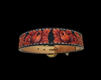 Leather dog collar, Golden Retriever collar, German Shepherd collar, Labrador collars, custom collars