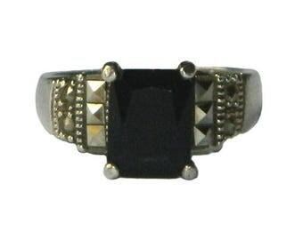 Vintage Sterling Silver Ring Size 6