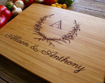 Personalized Wedding Gift, Housewarming Gift, Anniversary Gift, Personalized Engraved Cutting Board Gift, Realtor Closing Gift