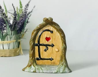 One of a Kind | Fairy Garden | Fairy Door | Toad House | Fairy | Pottery | handmade in my Charleston, SC studio